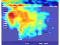 Heatmap para carrinhos de compra