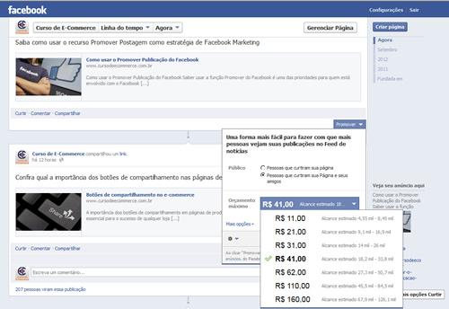 Veja como usar a função Promover Publicação do Facebook para aumentar a visualização de suas postagens no Facebook