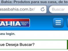 Casas Bahia lança site mobile para compras via smartphones e tablets