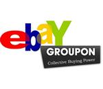 Ebay e Groupon fazem parceria